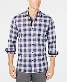 Ryan Seacrest Distinction™ Men's Plaid Shirt, Created for Macy's