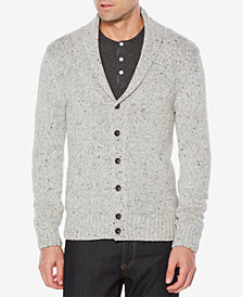 Original Penguin Men's Shawl Collar Donegal Cardigan