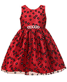 Jayne Copeland Toddler Girls Flocked Daisy Dress
