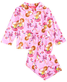 Disney Toddler Girls 2-Pc. Fancy Nancy Printed Pajama Set