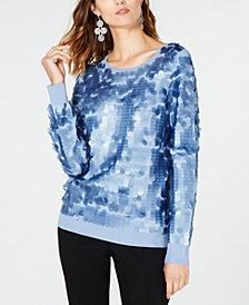I.N.C. Sequined Sweater, Created for Macy's