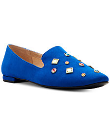 Katy Perry Turner Embellished Loafer Flats