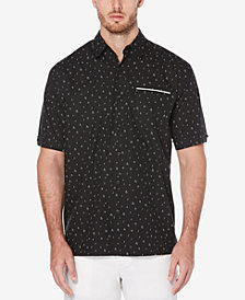 Cubavera Men's Soft Touch Mini-Print Shirt