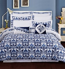 Tribeca Living Catalina 12-Pc. Cotton Comforter Sets