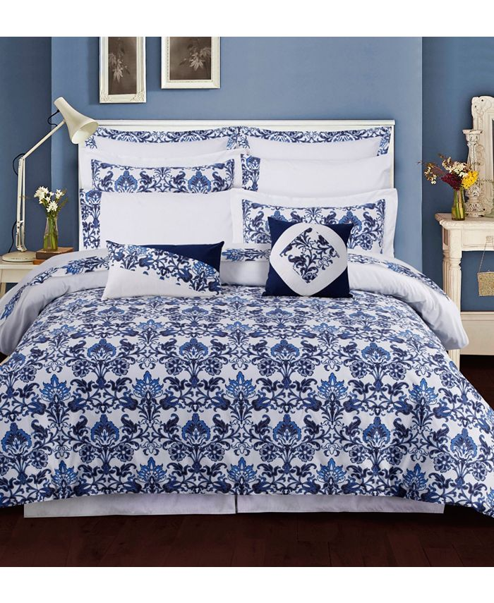 Tribeca Living - Catalina 12-Pc. Cotton Bed in a Bag