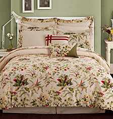 Tribeca Living Maui 12-Pc. Cotton Full Comforter Set
