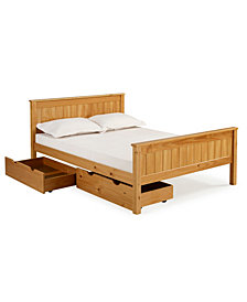 Harmony Full Bed with Storage Drawers