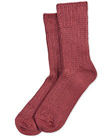 HUE® Super-Soft Ribbed Boot Socks
