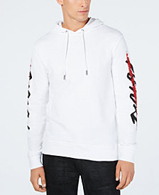 I.N.C. Men's Sequin Graphic Hoodie, Created for Macy's