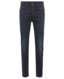 BOSS Men's Tapered-Fit Stretch Denim Jeans