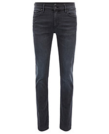 BOSS Men's Skinny-Fit Super-Stretch Denim Jeans