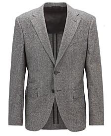 BOSS Men's Regular/Classic-Fit Tweed Blazer