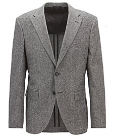 BOSS Men's Regular/Classic-Fit Tweed Blazer