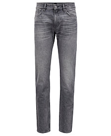BOSS Men's Slim-Fit Cotton Denim Jeans
