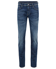 BOSS Men's Extra-Slim-Fit Super-Stretch Denim Jeans