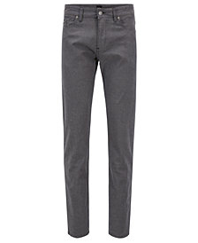 BOSS Men's Slim-Fit Brushed Jeans
