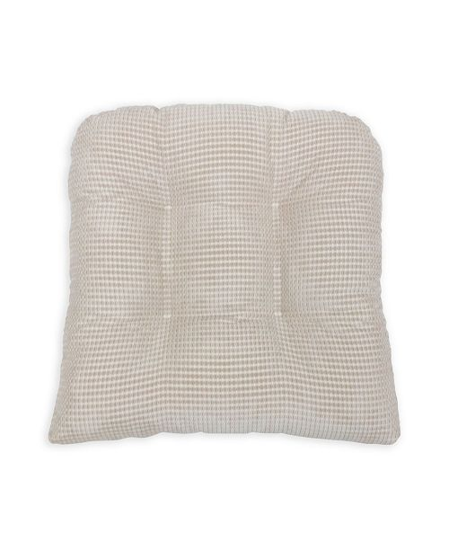 Arlee Home Fashions Memory Foam Chair Pads - Set of Two