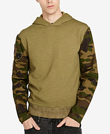 Buffalo David Bitton Men's All-Over Camo Print Hoodie