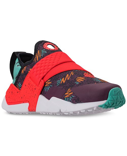 sports shoes e2201 52aba ... Nike Boys  Huarache Extreme Casual Sneakers from Finish ...