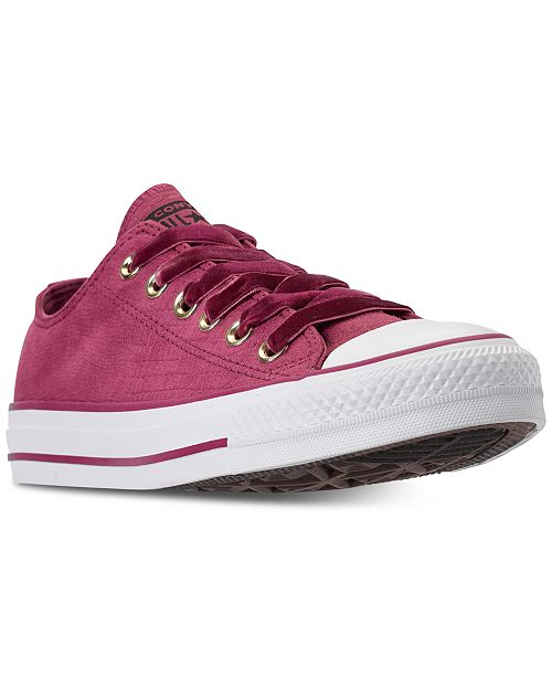 3b0c7faddf9f07 ... Converse Women s Chuck Taylor Ox Casual Sneakers from Finish Line ...