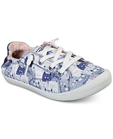 Skechers Women's Bobs Beach Bingo - Kitty Concert Bobs for Dogs Casual Sneakers from Finish Line