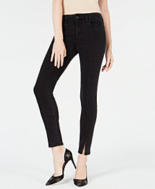 Joe's Jeans The Icon Slit-Hem Skinny Jeans