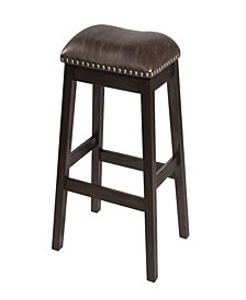 Spencer Non-Swivel Backless Counter Stool, Set of 2
