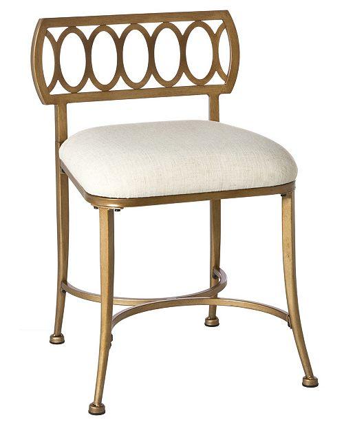 Fine Canal Street Vanity Stool Creativecarmelina Interior Chair Design Creativecarmelinacom