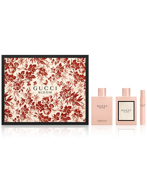 Gucci 3 Pc Bloom Gift Set Reviews All Perfume Beauty Macys