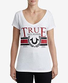 True Religion Graphic V-Neck T-Shirt