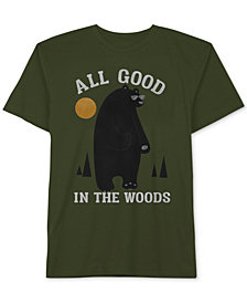 Jem Little Boys Good in the Woods Graphic Cotton T-Shirt