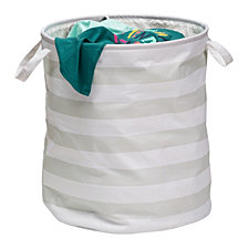 Honey Can Do Kids Collection Striped Hamper
