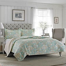Full/Queen Brompton Serene Quilt Set