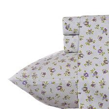 Laura Ashley Queen Petite Fleur Heather Sheet Set