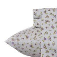 Laura Ashley Queen Petite Fleur Heather Sheet Set