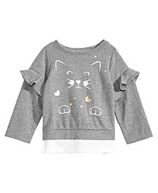 First Impressions Baby Girls Cat Longsleeve