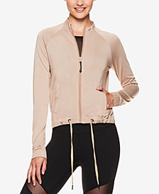 Gaiam by Jessica Biel Bleeker Bomber Jacket
