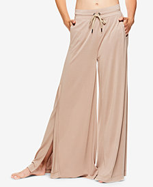Gaiam by Jessica Biel Wide-Leg Slit Pants