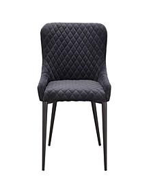 Etta Dining Chair Dark Gray
