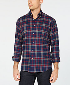 Barbour Men's Bacchus Plaid Shirt, A Sam Heughan Exclusive, Created for Macy's