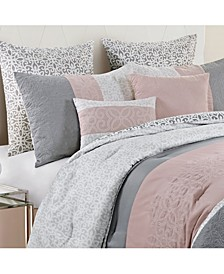 Cordelia 8-Pc. Embroidered King Comforter Set