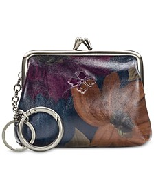 Borse Printed Leather Coin Purse