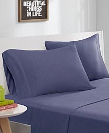Intelligent Design Cotton Blend Jersey Knit 4-PC Full Sheet Set