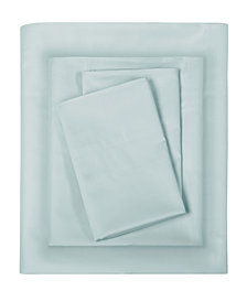 Sleep Philosophy 300 Thread Count Liquid Cotton 4-PC King Sheet Set