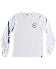 Quiksilver Men's Swell Symmetry Logo Graphic T-Shirt