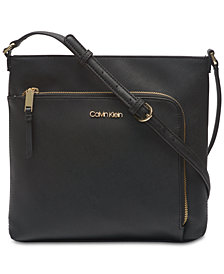 Calvin Klein Hudson Saffiano Leather Crossbody