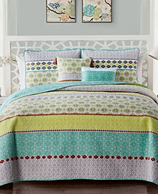 VCNY Home Dharma Reversible Quilt Set Collection