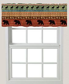 "Bear Lodge 60""x18"" Window Valance"