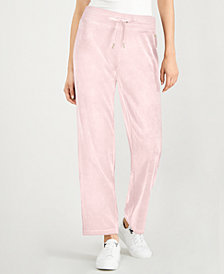 Calvin Klein Velour Drawstring Pants