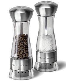 Cole & Mason Windemere Salt & Pepper Grinder Set